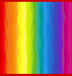 vertical wavy rainbow background vector image