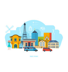 Traditions culture food beverages buildings vector