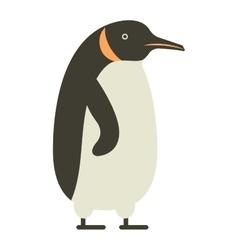 Emperor penguin cute anima vector image vector image