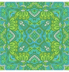 green doodle grunge graphic seamless pattern vector image