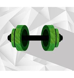 gym equipment vector image