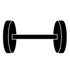 gym weight icon vector image