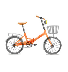 Road bicycle vector