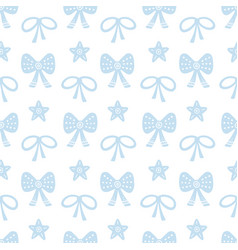scandinavian christmas nordic seamless pattern vector image