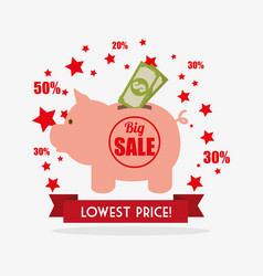 shopping special offers vector image