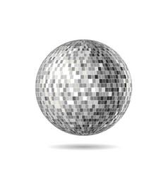 Version a mirrorball mirror ball disco vector