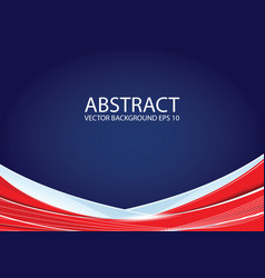 abstract red and blue background vector image vector image