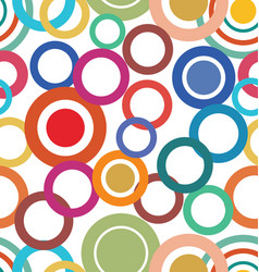 abstract seamless modern colorful retro design vector image