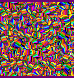 abstract seamless pattern of multicolored motley l vector image