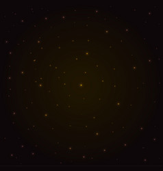background-stars-gold vector image