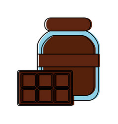 Chocolate icon image vector