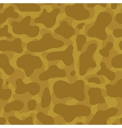 Desert camouflage seamless pattern vector