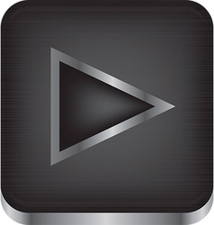 Media playback icon vector