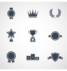 modern flat design awards vector image