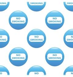 No smoking sign pattern vector image