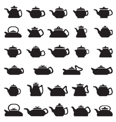Pot And Kettle Collection vector