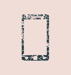 smart phone icon vector image