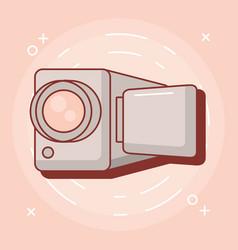 videocamera device design vector image