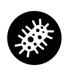 virus bacteria icon vector image