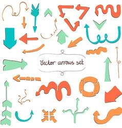 Arrows6 vector image vector image