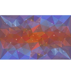 Triangular deepcolor texture vector image