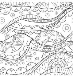 ethnic boho seamless pattern vector image vector image