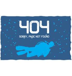 404 error poster vector
