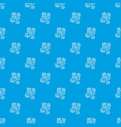 Bacteria pattern seamless blue vector