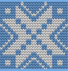 christmas seamless knitting background eps 10 vector image