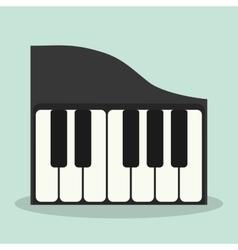 Piano icon Music instrument graphic vector