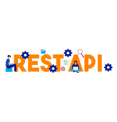 Representational state transfer rest api vector