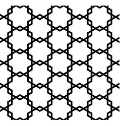 Seamless geometric ornament vector