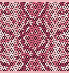 snakeskin seamless pattern realistic texture of vector image