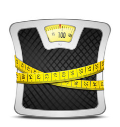 Scales Diet Concept vector image