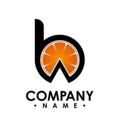 b letter logo design logo set letter logo vector image