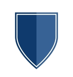 Heraldic shield shape emblem vector