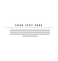 Place for your text black vector