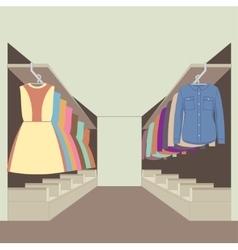Wardrobe vector