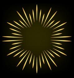 firework design element spark star eliment vector image vector image