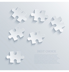 puzzle background Eps10 vector image