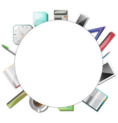 office or education tools vector image
