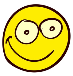 Smiley Doodle 03 vector image vector image