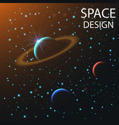 Abstract space elements vector