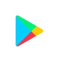 astana kazakhstan -20 july 2020 google play icon vector image