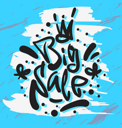 big sale hand drawn artistic custom brush vector image vector image