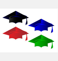 Degree pass caps vector