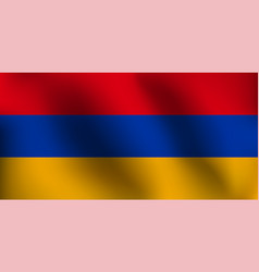 flag of armenia - vector image