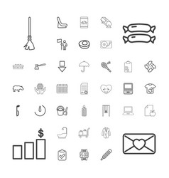 Flat icons vector