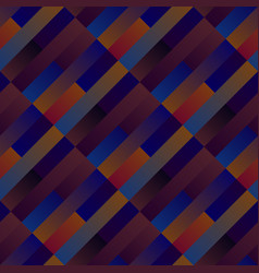 gradient seamless geometrical rectangle pattern vector image