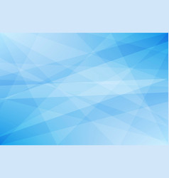 light blue geometric abstract background vector image vector image